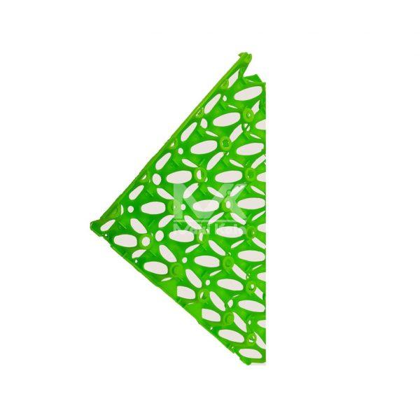 شانه حمل تخم مرغ سبز دو گوشه