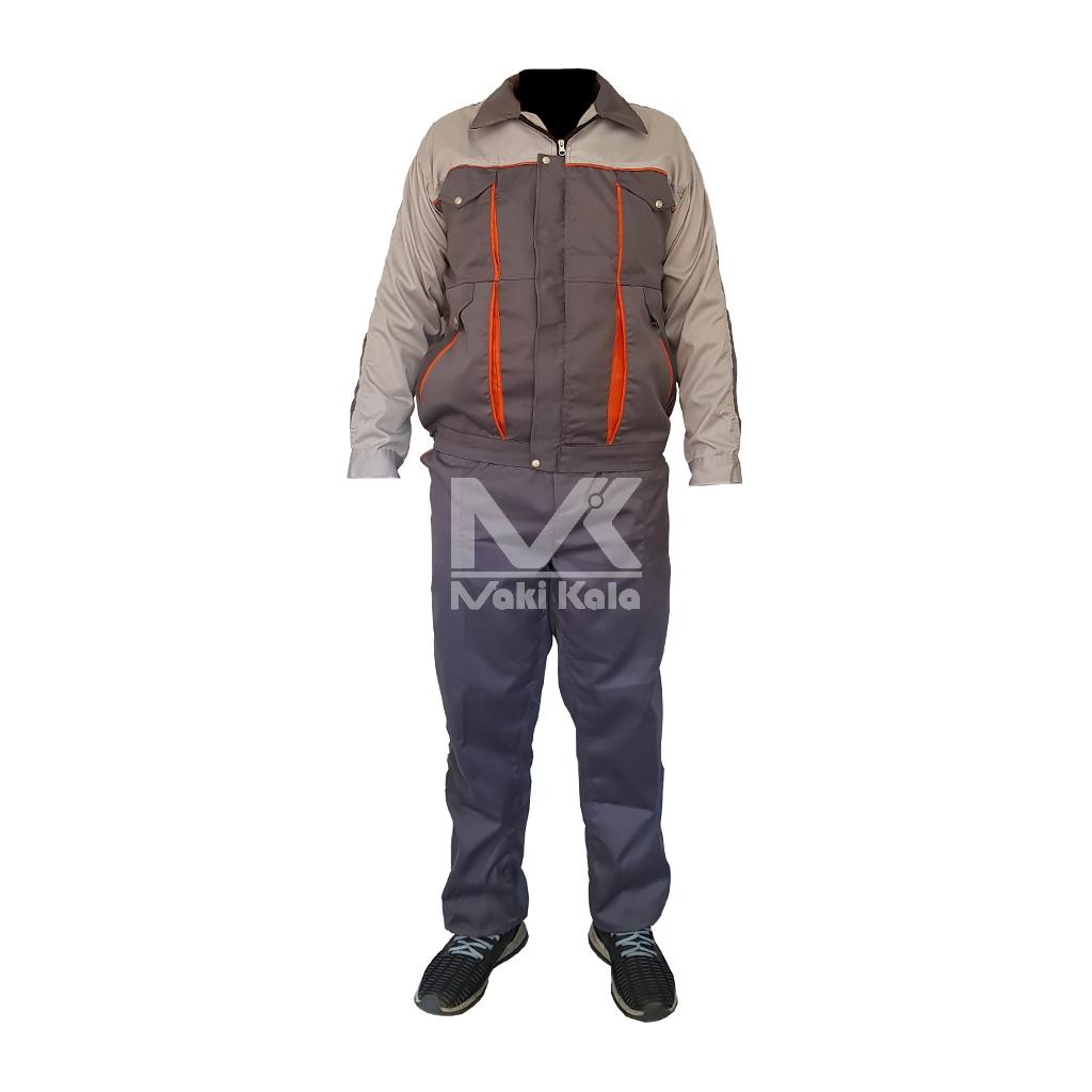 لباس کار مردانه مدل بوفالو کد MK-101 |
