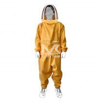 لباس زنبورداری طرح مریخی زرد