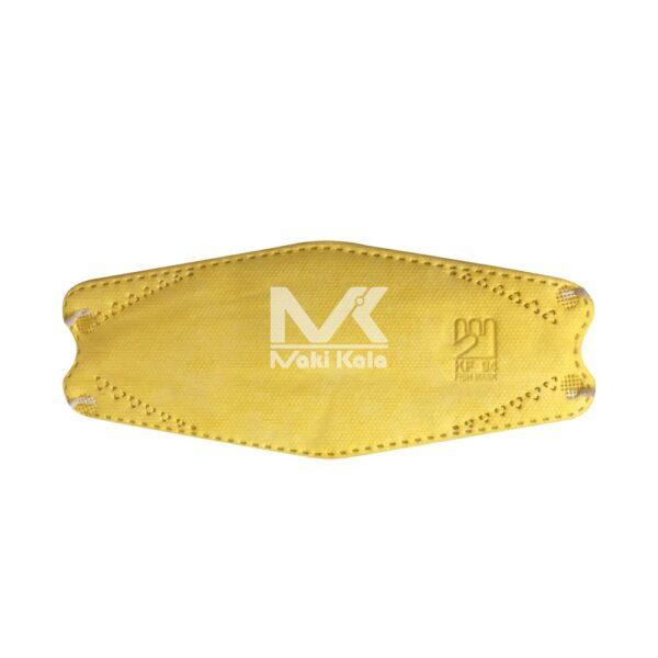 ماسک سه بعدی بسته 25 عددی زرد